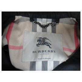 Burberry-Burberry trench size 38-Black