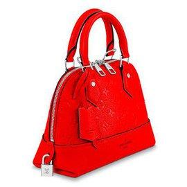Louis Vuitton-Louis Vuitton Alma neu-Rot