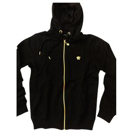 Versace-Versace - Black Men's Jacket-Black