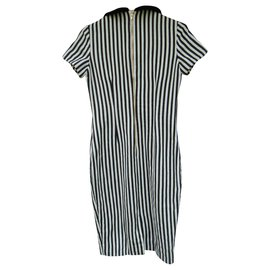 Olympia Le Tan-Betty dress from Olympia Le-Tan t 40-Black,White