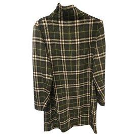 Burberry-Coats, Outerwear-Green