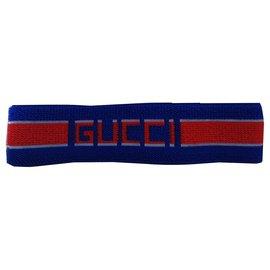 Gucci-Fascia capelli-Bleu