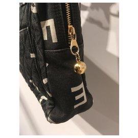 Chanel-Fourre-tout-Noir,Blanc