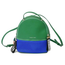 Autre Marque-Charles & Keith Backpack-Green