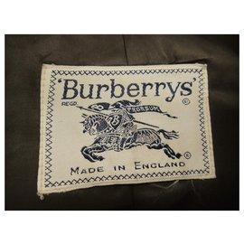 Burberry-vintage Burberry woman coat in Harris Tweed t 34/36-Khaki