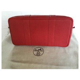 Hermès-Hermès Garden Party 36-Red
