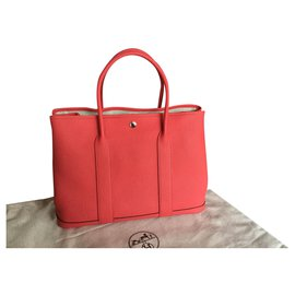 Hermès-Hermès Garden Party 36-Pink