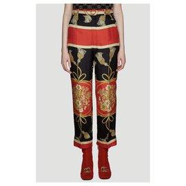 Gucci-Un pantalon, leggings-Multicolore