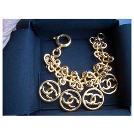 Chanel-Chanel medallions bracelet-Golden