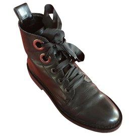 Jonak-jonak grime black size like a 38 neo rock style-Black
