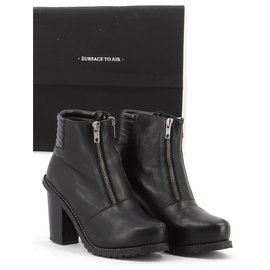 Surface To Air-Ankle Boots / Low Boots-Black