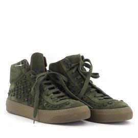 Jimmy Choo-Sneakers-Dark green