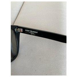 Saint Laurent-Des lunettes de soleil-Noir
