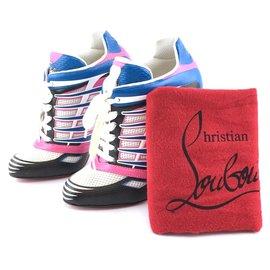 Christian Louboutin-Christian Louboutin Boltina Fluo Sneaker 120 Fluo Mat/Jazz Pumps-Multiple colors