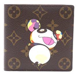 Louis Vuitton-Louis Vuitton Monogram Panda Bifold Compact Wallet-Multiple colors