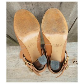 Chloé-Chloé p boots 39-Light brown