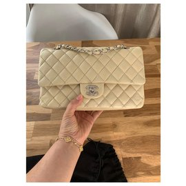 Chanel-Timeless medium-Beige