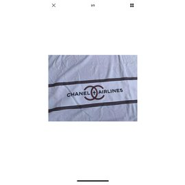 Chanel-Bath towel-White