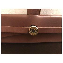 Hermès-herbeg hermes-Brown