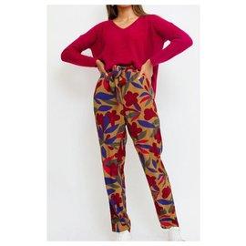 Des Petits Hauts-Un pantalon, leggings-Multicolore