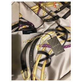 Gucci-Gucci foulard nouveau-Caramel