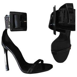 Gucci-Sandales Victoire-Noir
