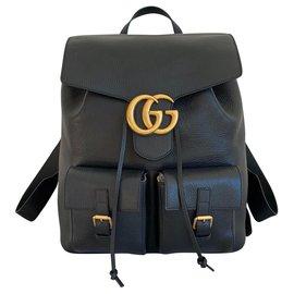 Gucci-Backpacks-Black