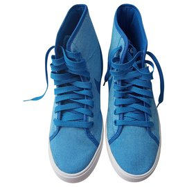 Nike-sneakers-Bleu