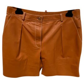 Hermès-Shorts-Brown