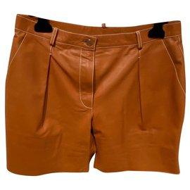 Hermès-short-Marron