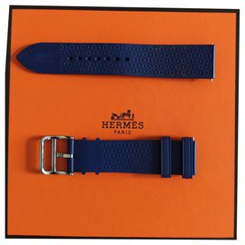 Hermès-Bracelet Hermès-Bleu Marine