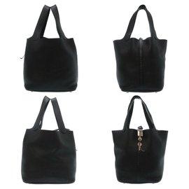 Hermès-Hermès Picotin Lock MM-Black