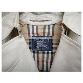 Burberry-vintage Burberry women's trench coat 38 /40-Beige