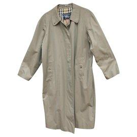 Burberry-Burberry woman raincoat vintage t 46-Khaki