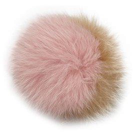 Fendi-Porte-clés Fendi Pink Monster Charm-Rose,Autre