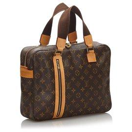 Louis Vuitton-Louis Vuitton Brown Monogram Sac Bosphore-Brown