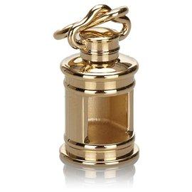 Hermès-Charm Hermes en métal doré-Doré