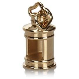 Hermès-Hermes Gold Metal Charm-Golden