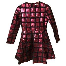 Kenzo-Dresses-Pink