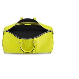 Louis Vuitton-Keepall LV taigarama-Jaune