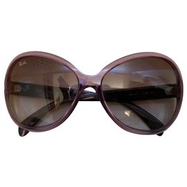 Ray-Ban-shiny violet sunglasses-Other