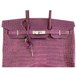 Hermès-Birkin 35-Pink