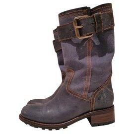 Free Lance-Boots-Blue