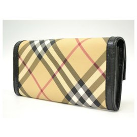 Burberry-Burberry Prorsum canvas plaid purse-Beige