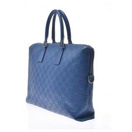 Louis Vuitton-Louis Vuitton Damier Anfini-Bleu