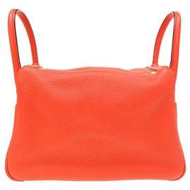 Hermès-Hermes Lindy 30-Orange