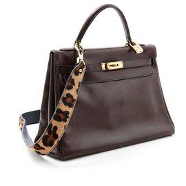 Hermès-Kelly 32 CHOCOLATE-Brown