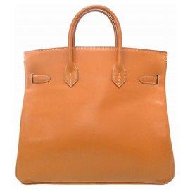 Hermès-Hermès Aucroix 32 Hand Bag-Beige