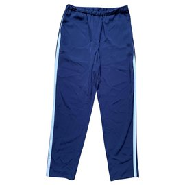 Closed-Un pantalon, leggings-Bleu foncé