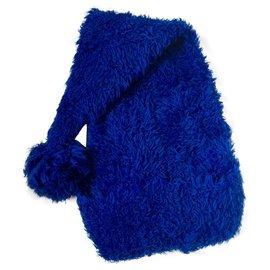 Moschino-Moschino Couture Hat - Unisex-Blue